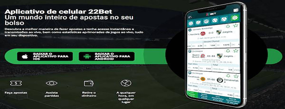 22bet Brasil-app