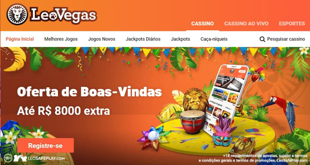 Leovegas bonus de boas-vindas aproveite este fantasticos bônus e jogue com diversão no Leovegas Brasil
