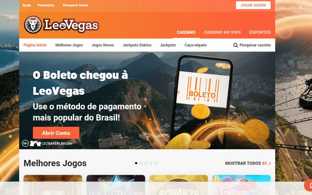 Leovegas Casino Online – Conheça um dos melhores sites para faturar com jogos de cassino