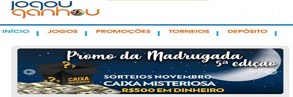 Jogou Ganhou Brasil – Casino Online Review